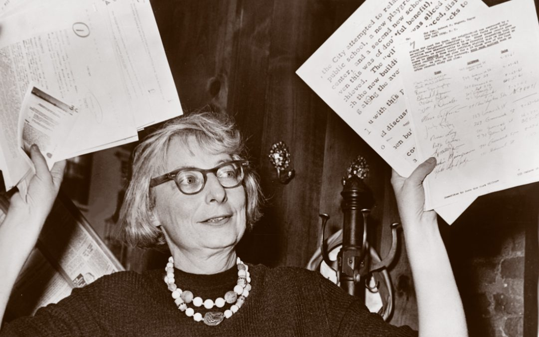 Urban Thinker with an Ecologist's Eye: Jane Jacobs' Legacy