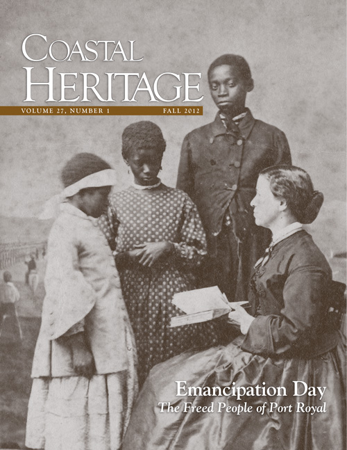 Cover of Coastal Heritage magazine.