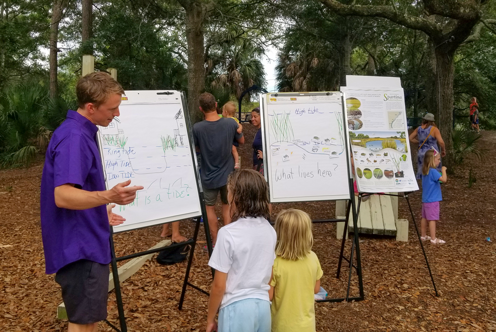 Flood Resilience Event Takes a Different Route at Folly Beach