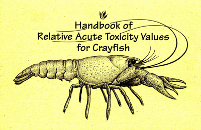 Report cover showing a crayfish.
