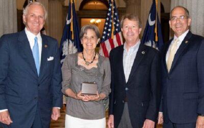 Educator Wins S.C. Environmental Awareness Award
