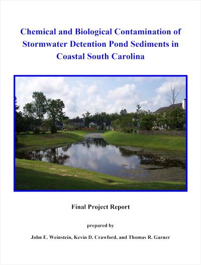 Chemical and Biological Contamination of Stormwater Detention Pond Sediments in Coastal South Carolina