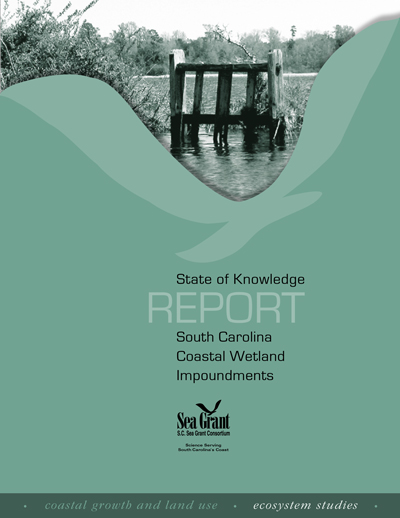 State of Knowledge Report: South Carolina Coastal Wetland Impoundments