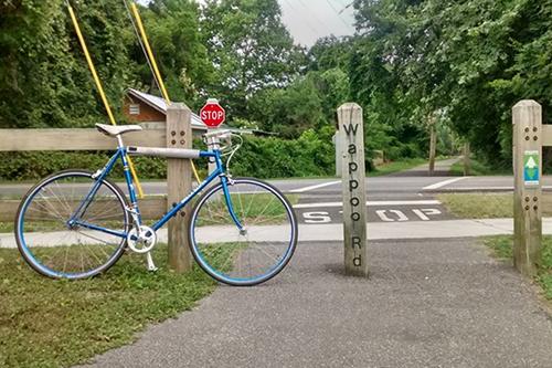 Bike on the greenway.