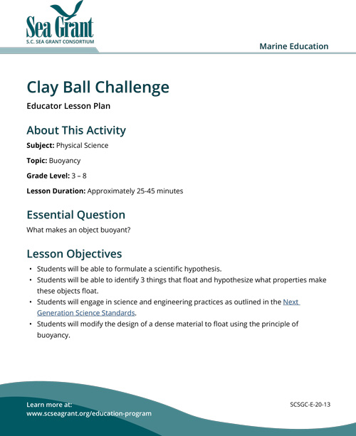 Lesson plan cover.